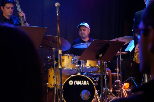 Drummer Carlos Rodriguez is back again this year with Tjaderama!